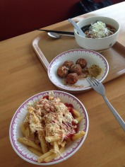 These are what we had for lunch at Ski Centre.