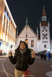 In front of Altes Rathaus