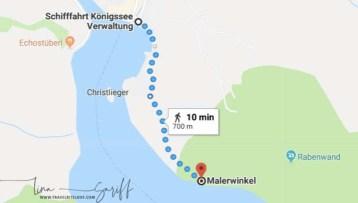 The path to Malerwinkel
