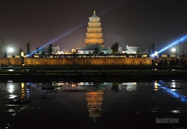 Wild Big Goose Pagoda