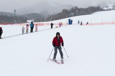 Furano ski lesson
