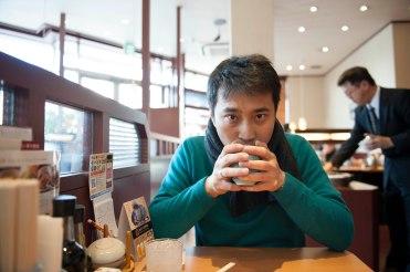 Breakfast in Kyoto.