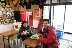 Seafood In Otaru