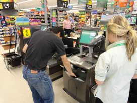 Woolworths Self-checkout