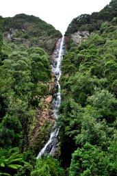 Montezuma Falls view from suspension bridge