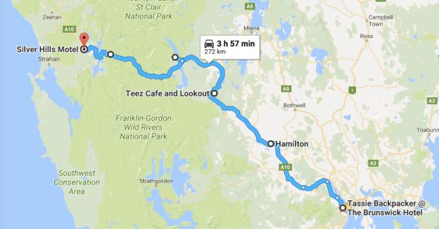 Hobart to Queenstown