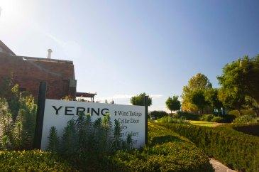 Entrance Yering Station