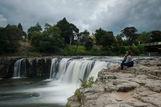 Haruru Falls.